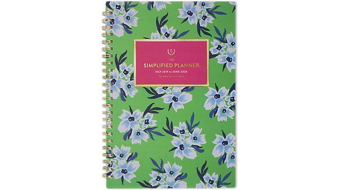 Emily Ley Simplified Academic Weekly-Monthly Medium Planner  (EL204-200A)
