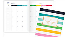 Simplified for AT-A-GLANCE Happy Stripe Academic Monthly Planner (Item # EL400-091A)