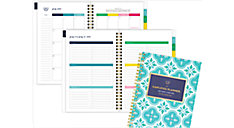 Simplified for AT-A-GLANCE Colorful Quatrefoil Academic Weekly-Monthly Planner (Item # EL400-200A)