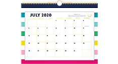 Simplified for AT-A-GLANCE Happy Stripe Academic Monthly Wall Calendar (Item # EL400-707A)
