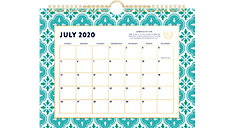 Simplified for AT-A-GLANCE Colorful Quatrefoil Academic Monthly Wall Calendar (Item # EL400-709A)