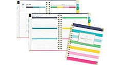 Simplified for AT-A-GLANCE Happy Stripe Academic Weekly-Monthly Planner (Item # EL400-805A)