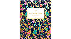 Simplified for AT-A-GLANCE Gold Foil Floral Academic Monthly Planner (Item # EL400-900A)