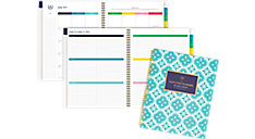 Simplified for AT-A-GLANCE Colorful Quatrefoil Academic Weekly-Monthly Planner (Item # EL400-905A)