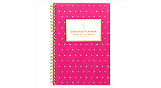 Simplified for AT-A-GLANCE Fuchsia Dot Customizable Weekly-Monthly Planner (Item # EL51-201)
