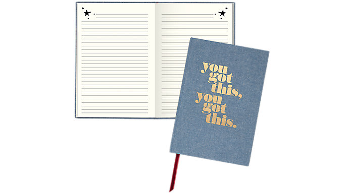 Emily + Meritt The Chambray Affirmation Journal  (EM100-406)