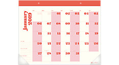 The Large Desk Pad Calendar (Item # EM100-704)