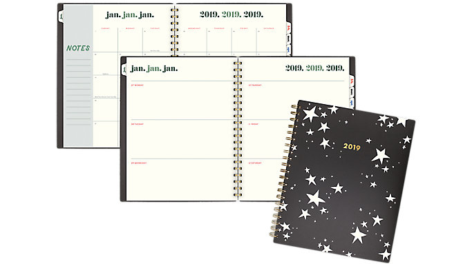 Emily + Meritt The Artist Star Weekly-Monthly Large Planner  (EM100-905)