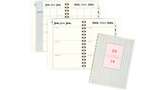 The Brushstroke Stripe Weekly-Monthly Small Planner (Item # EM101-200)