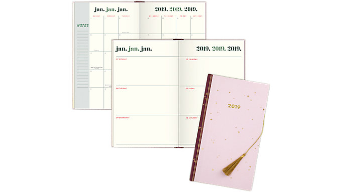 Emily + Meritt The Foiled Scattered Star Weekly-Monthly Small Planner  (EM101-203)