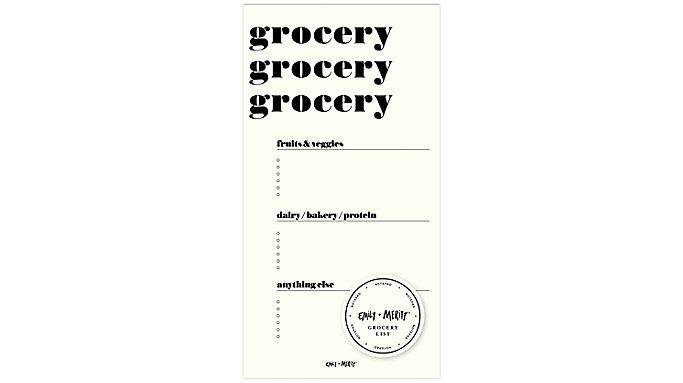 Emily + Meritt The Grocery List Pad  (EM101-400)