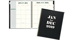 The Foiled Jan - Dec Weekly-Monthly Planner (Item # EM101-900)