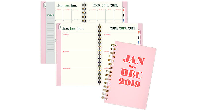 Emily + Meritt The Jan - Dec Weekly-Monthly Planner  (EM103-200)