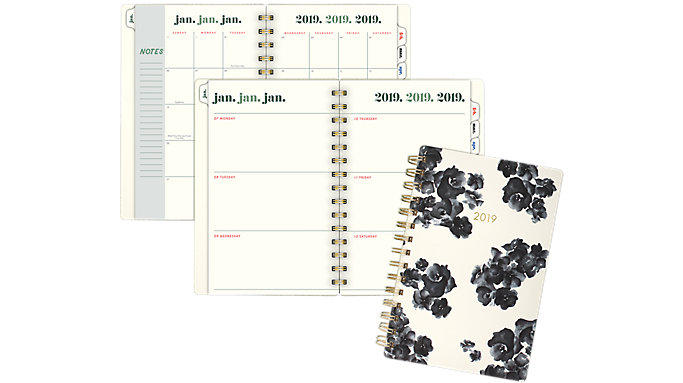 Emily + Meritt The Painterly Floral Weekly-Monthly Small Planner  (EM104-200)