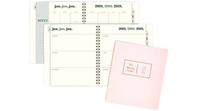 Emily + Meritt The Weekly To-Do Weekly-Monthly Planner  (EM104-905)