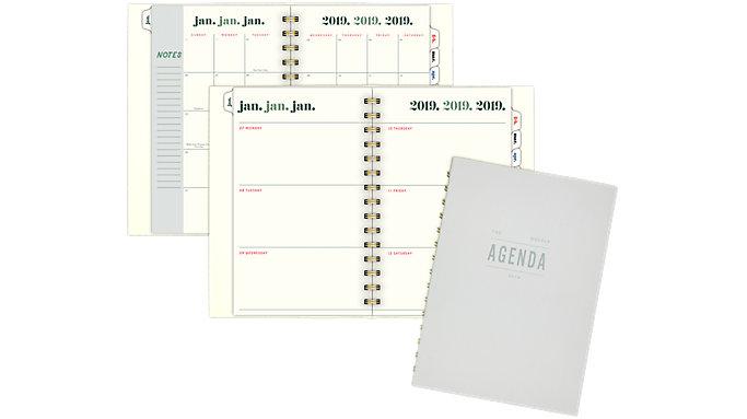 Emily + Meritt The Agenda Weekly-Monthly Planner  (EM106-200)