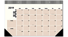 Academic The Compact Desk Pad Calendar (Item # EM200-705A)