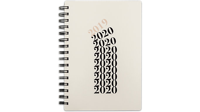 Emily + Meritt Weekly-Monthly The Stacked Year Medium Planner  (EM201-200A)