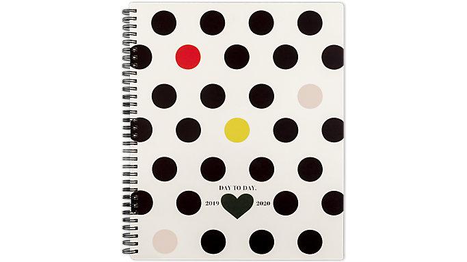 Emily + Meritt Monthly The Pop Color Polka Dot Planner  (EM201-900A)