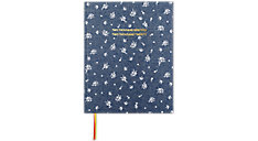 Weekly-Monthly The Chambray Ditsy Floral Perfect Bound Planner (Item # EM201-903A)