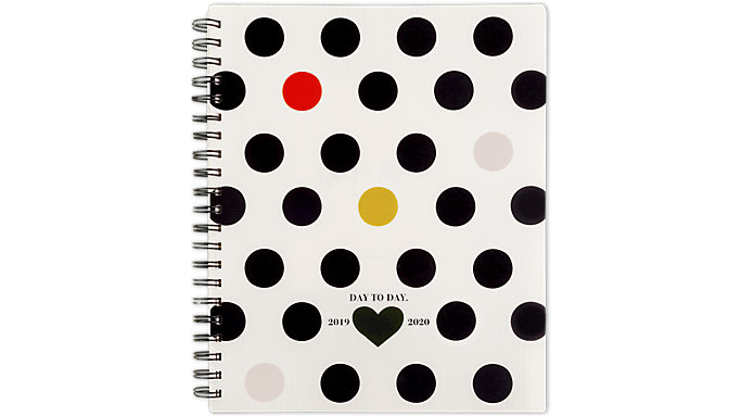 Emily + Meritt Weekly-Monthly The Pop Color Polka Dot Planner  (EM201-905A)