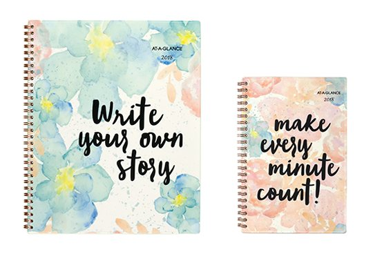 Floral with Stylized Messaging Planner