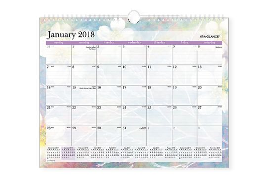 Dreams Wall Calendar by AT-A-GLANCE