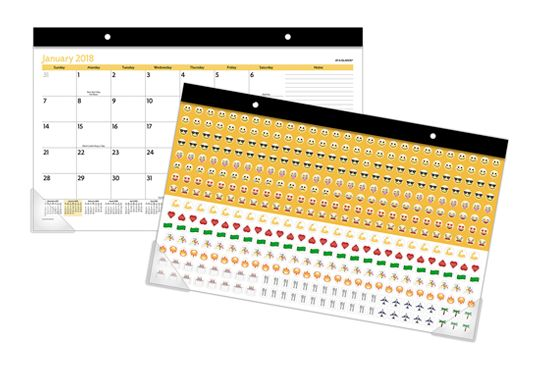 Emoji Planner by AT-A-GLANCE