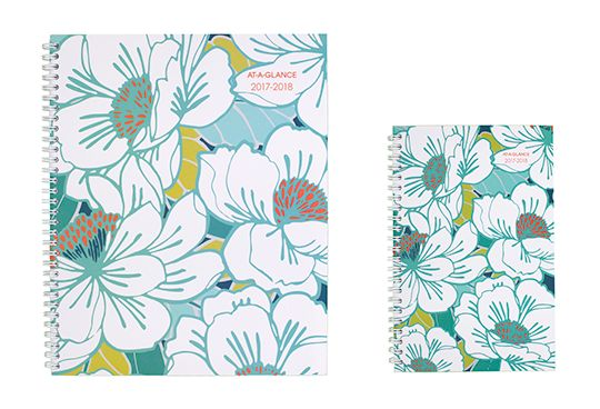 Mia Tropical Flower Planner by AT-A-GLANCE