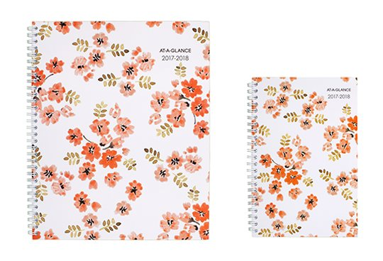 Delicate Floral Planner