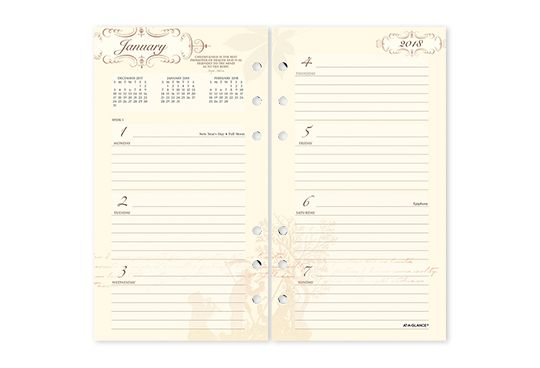 Poetica Planners by AT-A-GLANCE