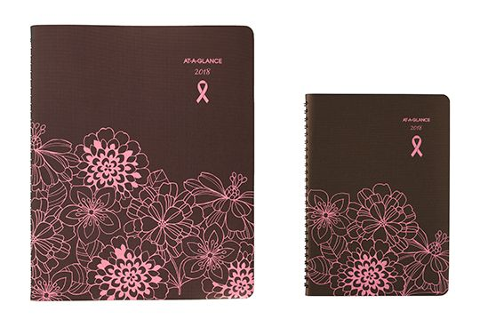 Sorbet Planner by AT-A-GLANCE Supports Breast Cancer Awareness