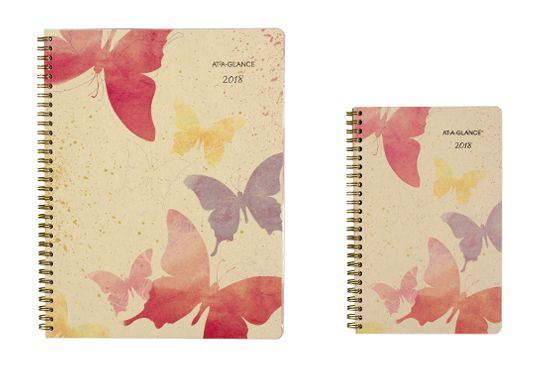 Watercolor Butterfly Planner by AT-A-GLANCE