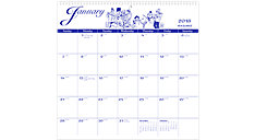 Illustrators Wall Calendar (Item # G1000)