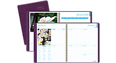 DayMinder Fashion Floral Weekly-Monthly Planner (Item # G701)