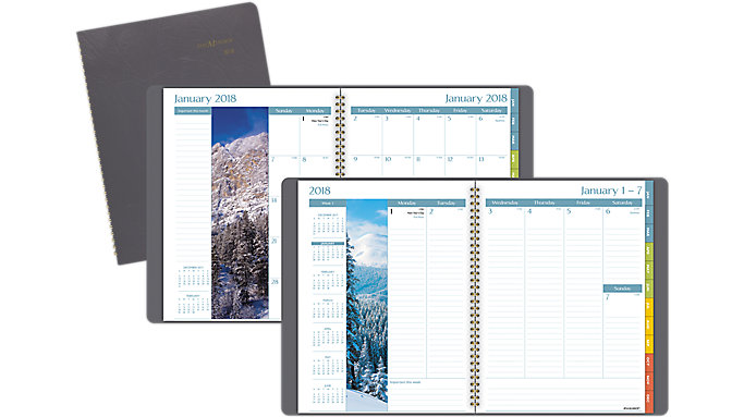AT-A-GLANCE DayMinder Scenic Weekly-Monthly Planner  (G702)