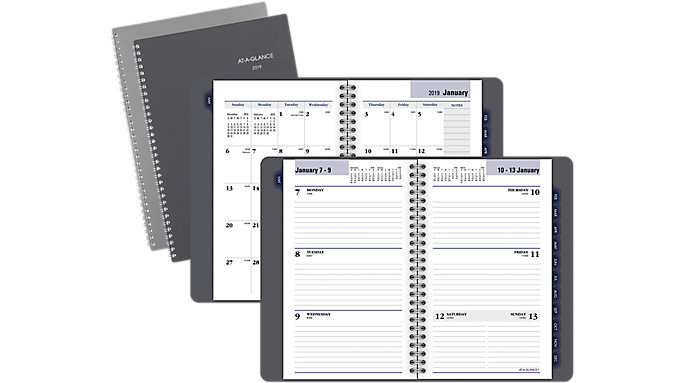 AT-A-GLANCE Traditional Weekly-Monthly Planner  (GC200)