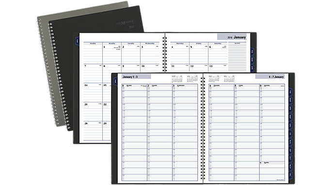 AT-A-GLANCE Traditional Weekly-Monthly Appointment Book  (GC520)