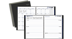 2019 weekly monthly planner at a glance