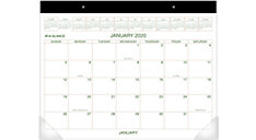 Two-Color Monthly Desk Pad (Item # GG2500)