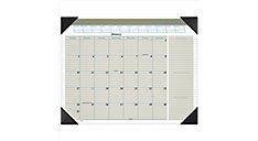 Executive Monthly Desk Pad Calendar (Item # HT1500)