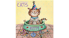 Gary Pattersons Cats Wall Calendar (Item # HTH102)