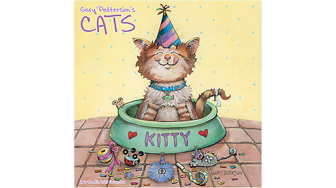 Mead Gary Pattersons Cats Wall Calendar  (HTH102)