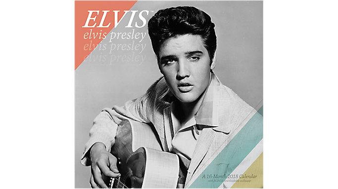 Mead Elvis Wall Calendar  (HTH220)