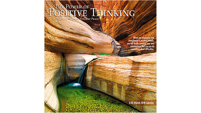 Mead The Power of Positive Thinking Wall Calendar  (HTH257)