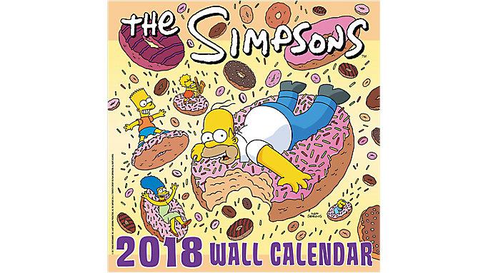 Mead The Simpsons Wall Calendar  (HTH516)
