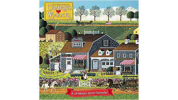Mead Charles Wysocki Wall Calendar  (HTH538)