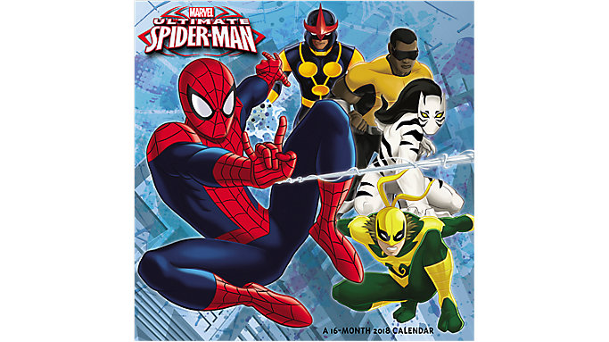 Mead Ultimate Spider-Man Wall Calendar  (HTH541)