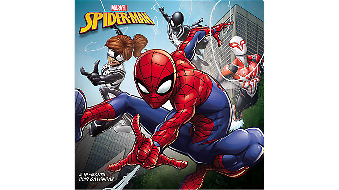 Mead MARVEL Spider-Man Wall Calendar  (HTH541)