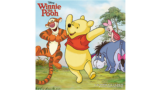 Mead Winnie the Pooh Wall Calendar  (HTH542)